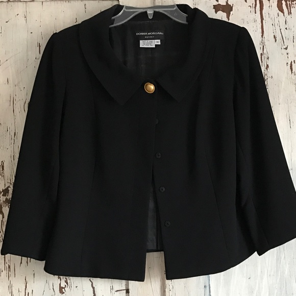 a3e3b30e3fd62 Donna Morgan Jackets & Coats | Flare Cape Jacket | Poshmark